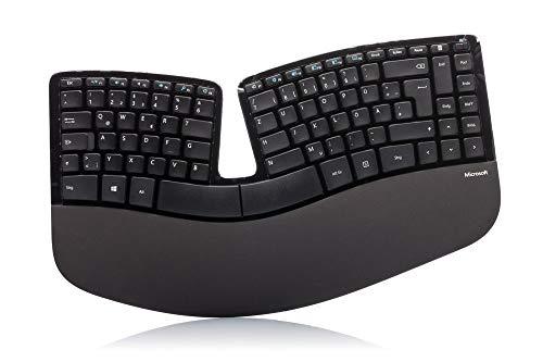 Ergonomische Tastatur von Microsoft Sculpt (QWERTZ-Layout)