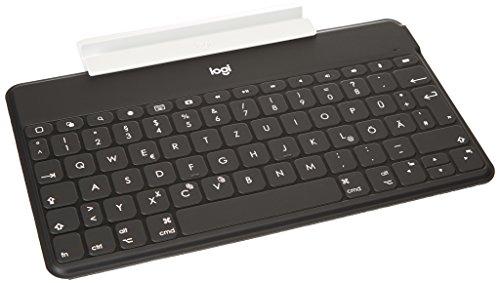 Logitech Keys-to-Go Kabellose Tablet-Tastatur, Bluetoot...