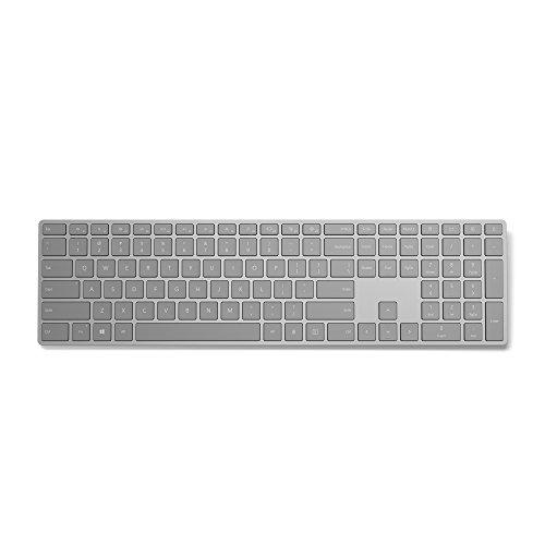 Microsoft Modern Keyboard (mit Fingerprint-ID) silber